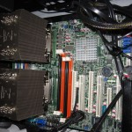 Mainboard with both OPTERONS